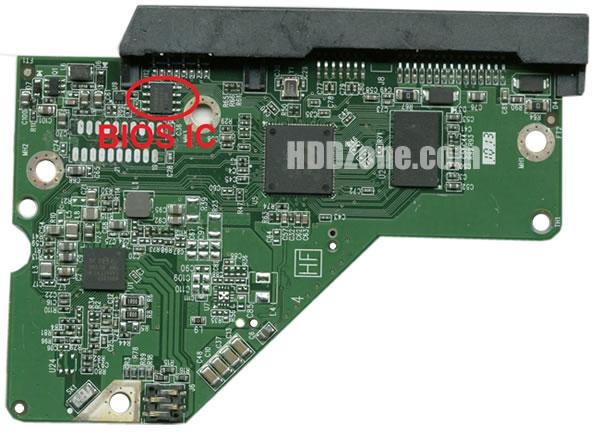 2060-771945-000 WD Carte PCB Disque Dur