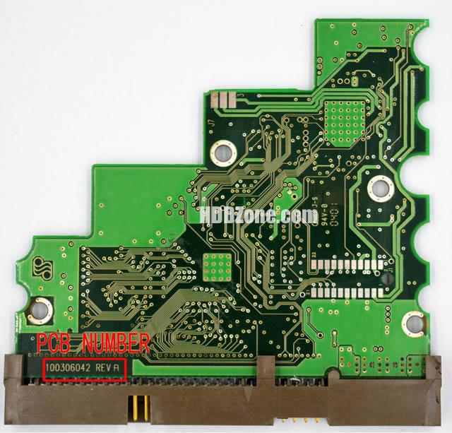 changer remplacer carte pcb disque dur seagate