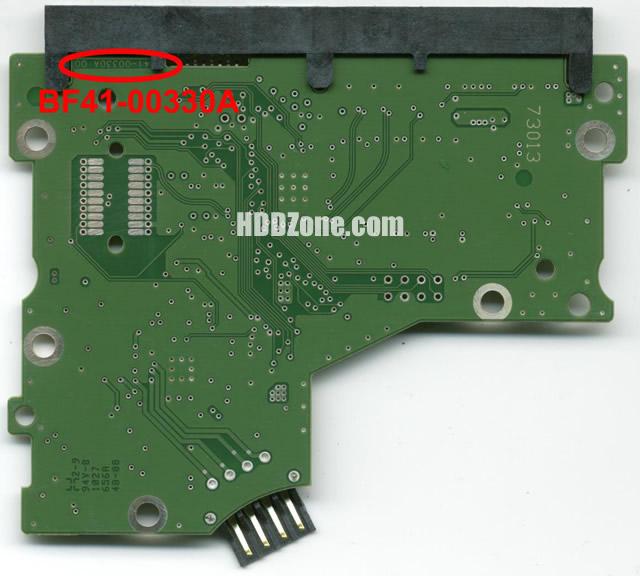 Changer remplacer carte pcb disque dur samsung